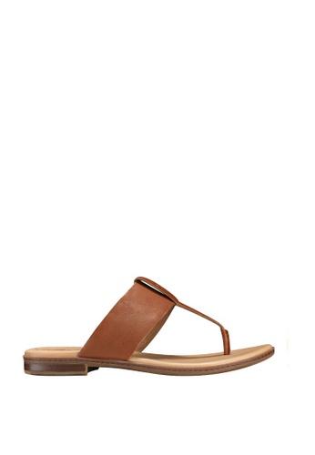 Timberland brown Cherrybbrook Thong Sandals 0785FSH0B30CB9GS_1