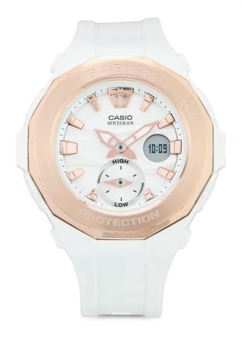 Casio white Casio Baby-G Watch BGA-220G-7ADR CCB68ACACAD4A4GS_1
