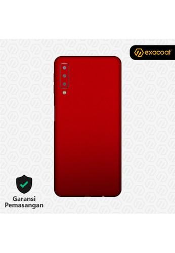 Exacoat Galaxy A7 (2018) 3M Skins True Colors - Lust Red C17A9ESA4D41BFGS_1
