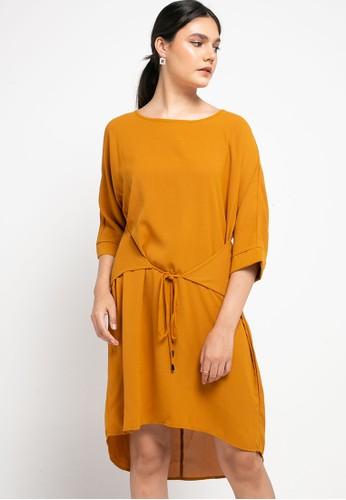 SIMPLICITY yellow Rope Mini Dress 9A120AAC7E2CD1GS_1