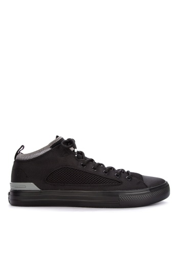 Converse black Chuck Taylor All Star Ultra Lightweight Textile Sneakers 43F0DSHC56A2C9GS_1