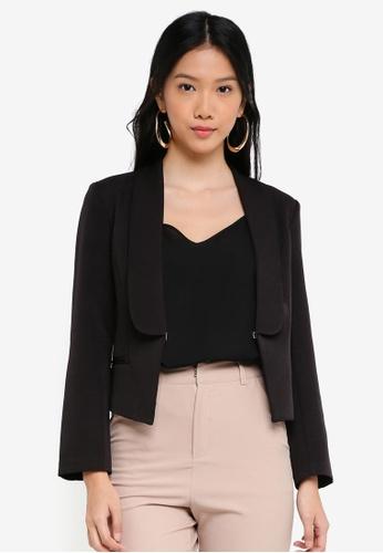 ZALORA black Slim Suit Blazer A1D52AA68F2E60GS_1