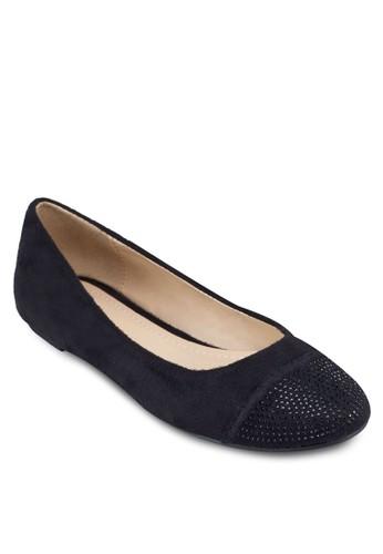 Jill 圓頭仿麂皮平底鞋, zalora 台灣門市女鞋, 芭蕾平底鞋