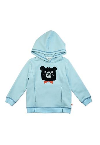 Vauva blue Vauva Kids Brother Bear Hoodie - Blue DB408KA7BC7207GS_1
