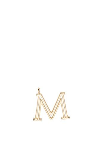 SEMBONIA gold Initial Alphabet Bag Charm E8A36ACE2116ACGS_1