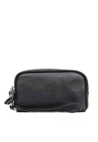HAPPY FRIDAYS Three Layers Litchi Grain Leather Wallet JN2026 40455AC3325506GS_1