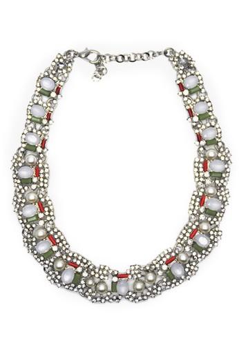 Istana Accessories Kalung Yovita Fashion Necklace-silver