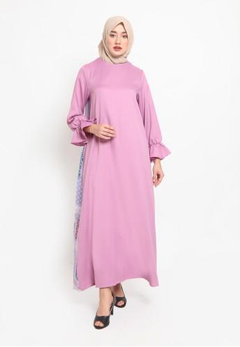 Heart n Feel Muslim pink Rabiyya Gamis ACC1FAA3AB8998GS_1