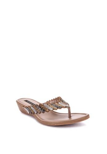45c0822e62f Shop Primadonna Jeweled Flat Slides Online on ZALORA Philippines