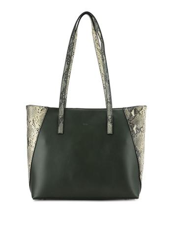 Nose green Animal Print Shoulder Bag NO327AC0RCAEMY_1