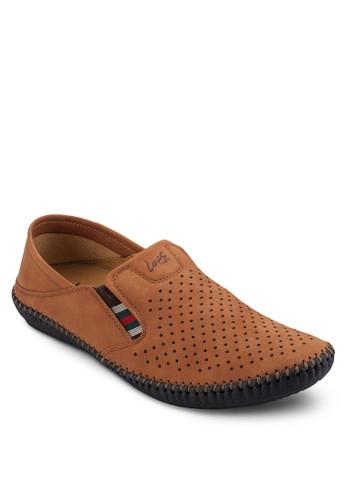 透氣沖孔休閒懶人鞋, esprit 台灣鞋, 懶人鞋