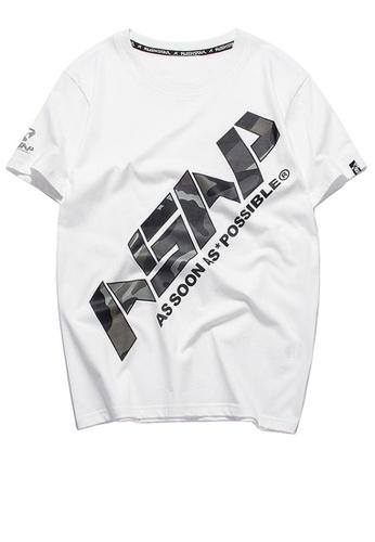 HAPPY FRIDAYS Trend Printed Short T-shirt RS1212 80ED9AA894B633GS_1