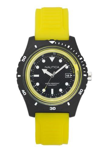 Nautica yellow Nautica Jam Tangan Pria - Yellow Black - Rubber - NAPIBZ003  NA209AC0WEBCID 1 51d44df6d4
