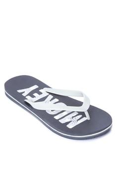 Warrior Mickey Flip Flops