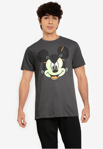 Old Navy grey Fraken-Mickey Mouse Tee 245EDAA57D4A65GS_1