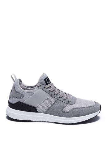 Life8 grey Casual Retro Sock Shoes-09901-Grey DB75FSH1874C10GS_1
