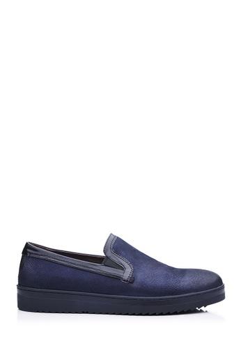 BONIA blue Dark Blue Basic Sneakers 424B2SH7D64179GS_1