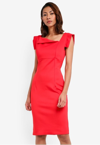 Goddiva red Chic Mad Men Style Dress 615A0AABF4E011GS_1