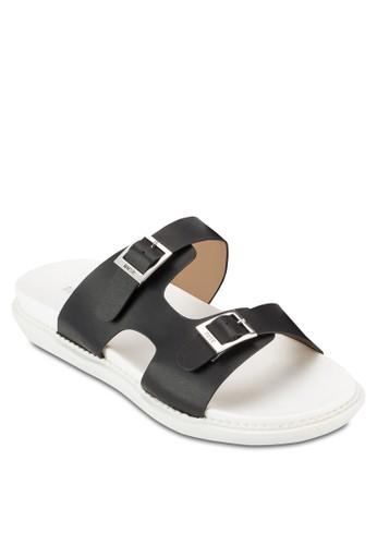 雙扣環鏤空舒適拖esprit tw鞋, 女鞋, 鞋