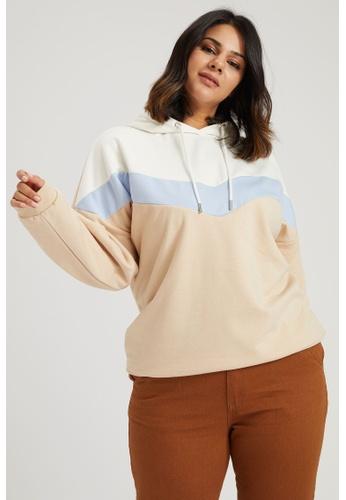 DeFacto beige Woman Knitted Sweat Shirt 90334AACA169C1GS_1