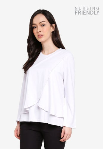 Buy Zalia Wrap Knit Top Online On Zalora Singapore