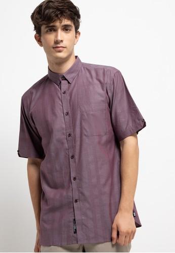 Salt n Pepper purple S/S-Men Shirt 9E537AA9E4B774GS_1