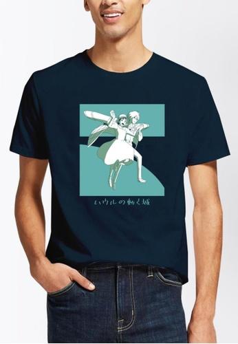 INSPI blue Howl Men's T-shirt FB0A0AA335E9DDGS_1