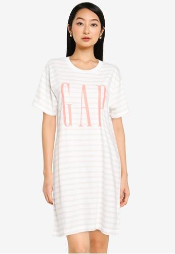 Gap multi Tall Gap Short Sleeve Dress 750A8AA1F9C082GS_1