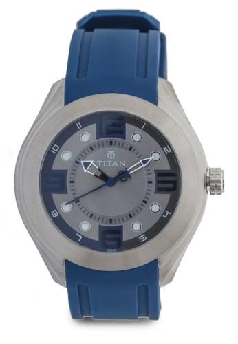 不esprit 旺角銹鋼PU 手錶, 錶類, 飾品配件