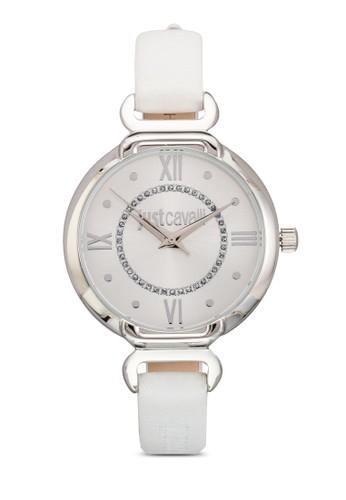 R725152esprit 澳門6502 Hook J 皮革圓錶, 錶類, 飾品配件