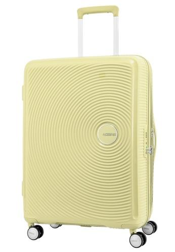 American Tourister yellow American Tourister Curio Spinner 69/25 Exp TSA V1 53947AC9BA03B0GS_1