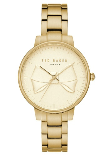 TED BAKER gold Ted Baker Women's TE15197003 Brook Gold-toned Bracelet Watch 5A8F2ACC1DC154GS_1