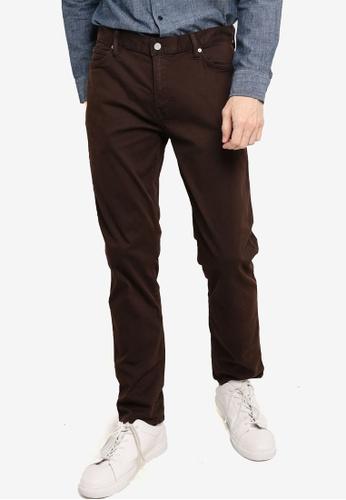 Banana Republic brown Slim Flyweight Traveler Pants 1337AAA4629689GS_1