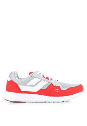 League grey and red Cruz Shoes LE683SH0S2OCMY_1
