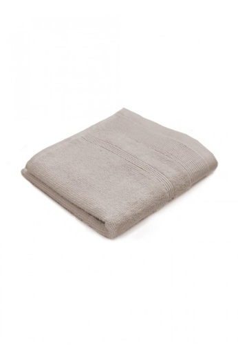 Primeo brown Premium Double Pile Taupe Face Towel 540gsm Soft High Absorbent AA8D4HLC9A743BGS_1