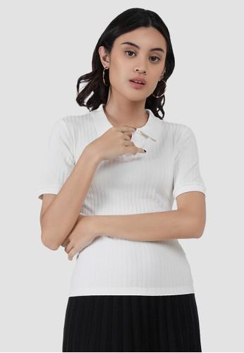 MISSISSIPPI Mississippi Kaos Polo Wanita LIN000008M Putih 8B783AA0D78329GS_1
