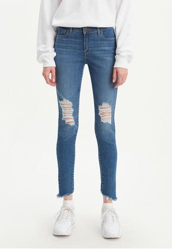 Levi's blue 710 Super Skinny Jeans 17778-0329 5FE87AA5A39794GS_1