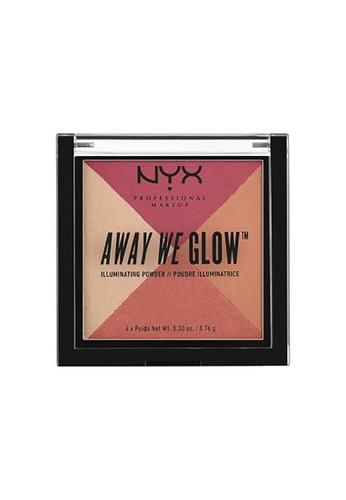NYX Professional Makeup multi NYX Professional Makeup Away We Glow™ Illuminating Powder-SUNSET BLVD 6C4F3BE4919067GS_1