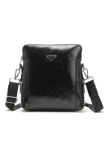 37c37f3b Men PU Leather Messenger Shoulder Crossbody Bag