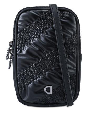 Desigual black Rectangular Sling Bag Coin Purse F15AFAC85E2C20GS_1