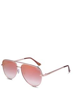 c6d6866b734 Quay Australia pink High Key Mini Sunglasses 1ED15GL92344B9GS 1