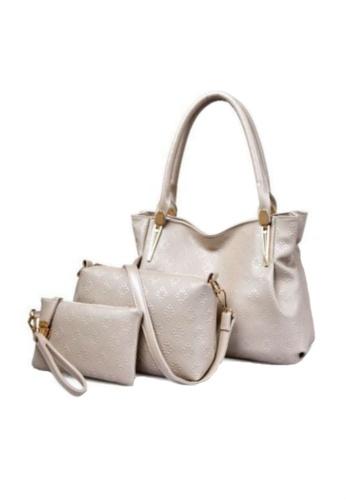 TCWK white Set of 3 pcs Fashion Handbag TC258AC45VXUMY_1