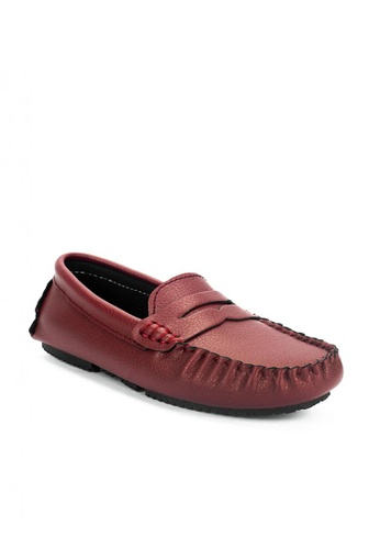 Mario D' boro Runway red CR 24935 maroon Casual loafers 7D182KS65826C5GS_1