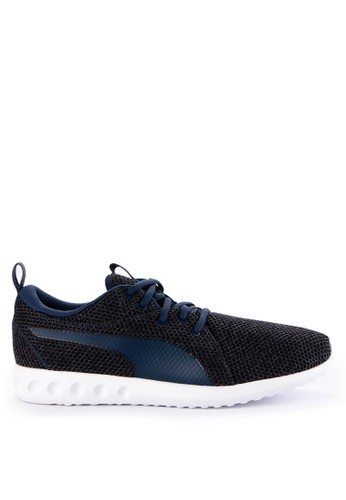 Puma navy Carson 2 Nature Knit Shoes 32FCESH802A026GS_1