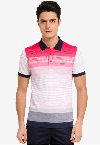 BOSS pink Paule 6 Shirt - Boss Athleisure 7D520AA871C1DFGS_1