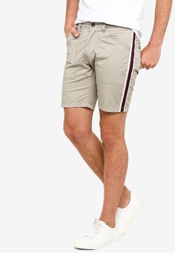 SPARROW GREEN grey RICK Shorts BA7E5AABEECA0FGS_1