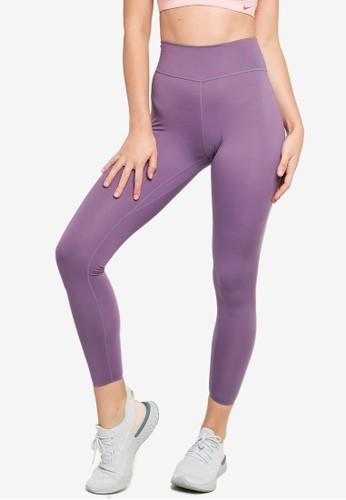 Nike purple AS Women's One Luxe Tights B856DAA4781F2DGS_1