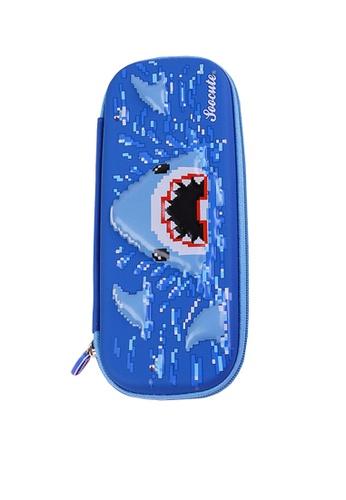 Twenty Eight Shoes blue VANSA 3D Cartoon Pencil Case  VAK-A99887 8A1DFKC3EAFA94GS_1