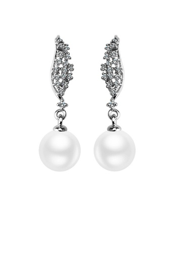 OUXI OUXI Pearl Earrings 21396 OU821AC88FDJMY_1