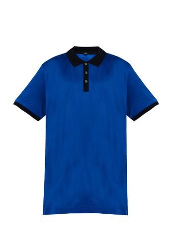 BOSS 藍色 Phillipson 34 Polo 襯衫 558A9AA3210960GS_1